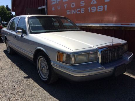 1993 Lincoln Town Car Cartier Spokane WA