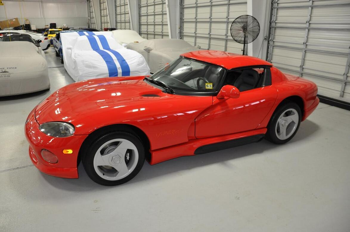 1994 Dodge Viper 19 Miles from New RT/10 Tomball TX