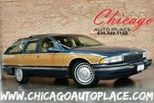 1995 Buick Roadmaster Estate Wagon Limited - 5.7L 8-CYL ENGINE REAR WHEEL DRIVE 3RD ROW PANO ROOF TAN LEATHER HEATED SEATS WOOD GRAIN INTERIOR TRIM