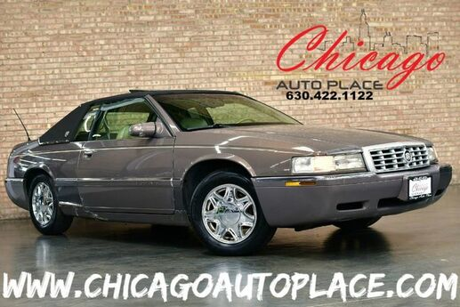 1995 Cadillac Eldorado 4.6L 8-CYL ENGINE FRONT WHEEL DRIVE BEIGE LEATHER HEATED SEATS SUNROOF CHROME WHEELS Bensenville IL