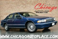 1995_Chevrolet_Caprice Classic_1SL Value Edition - 4.3L V8 ENGINE REAR WHEEL DRIVE LIGHT BLUE/GRAY CLOTH INTERIOR WOOD GRAIN INTERIOR TRIM CLIMATE CONTROL ALLOY WHEELS_ Bensenville IL