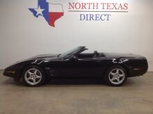 1995_Chevrolet_Corvette_Convertible Sport LT1 V8 Triple Black Bose Leather 5 Spoke Wheels_ Mansfield TX