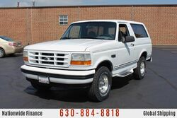 Ford Bronco XLT 4WD - Clean History - Tow Package 1995
