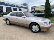 1995_Lexus_LS 400_FRESH TRADE!!! ULTRA LOW MILES!!! ONE LOCAL OWNER!!!_ Plano TX