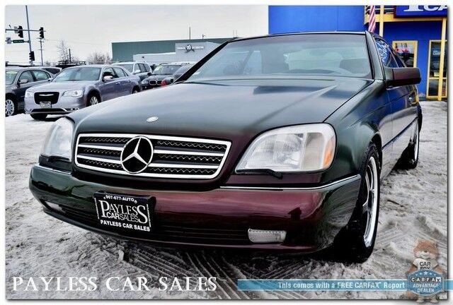 1995 Mercedes Benz S 600 6 0l V12 Coupe Automatic Heated