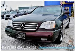 1995_Mercedes-Benz_S600_6.0L V12 / Coupe / Automatic / Heated Leather Seats / Cruise Control / Custom Paint / Aftermarket Rims_ Anchorage AK