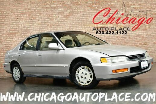 1996 Honda Accord Sdn Value Package - 2.2L 4-CYL ENGINE FRONT WHEEL DRIVE TAN CLOTH INTERIOR RUNS GREAT Bensenville IL