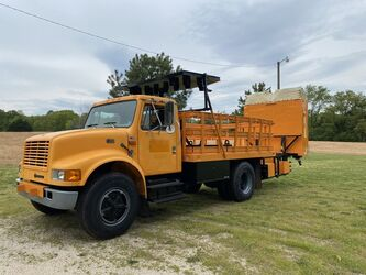 International Harvester 4700 Crash Cushion Attenuator Truck  1996