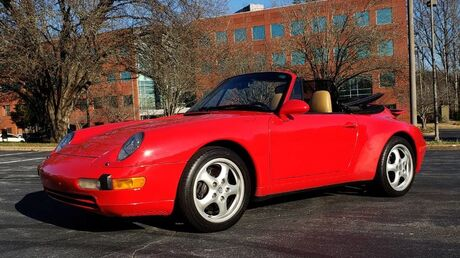 1996 Porsche 911 Carrera 2 Convertible / 6-Speed Manual / Prem Sound / Low Miles Charlotte NC