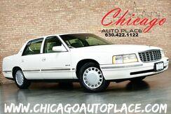 1997_Cadillac_Deville_4.6L NORTHSTAR V8 ENGINE FRONT WHEEL DRIVE BEIGE LEATHER HEATED SEATS POWER SEATS WOOD GRAIN INTERIOR TRIM_ Bensenville IL
