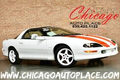 1997_Chevrolet_Camaro_Z28 Coupe - 30TH ANNIVERSARY EDITION 1 OWNER 5.7L SFI V8 ENGINE REAR WHEEL DRIVE WHITE LEATHER SPORT SEATS_ Bensenville IL