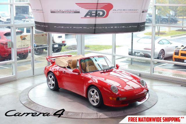 1997 Porsche 911 Carrera 4 Cabriolet Chantilly VA