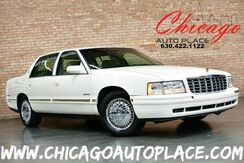 1998_Cadillac_d'Elegance_4.6L V8 NORTHSTAR ENGINE FRONT WHEEL DRIVE TAN LEATHER HEATED SEATS WOOD GRAIN INTERIOR TRIM CHROME WHEELS_ Bensenville IL
