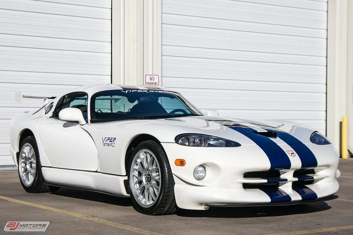 1998 Dodge Viper GTS-R Chassis #51 Olivier Beretta Driven Tomball TX