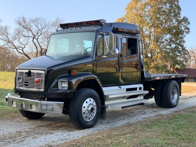 1998 Freightliner FL 106 CREW CAB SPORTS CHASSIS FLATBED  Crozier VA