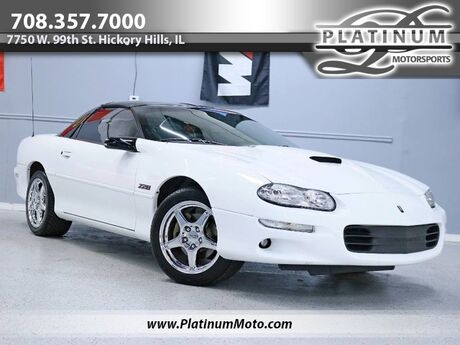 1999 Chevrolet Camaro Z28 2 Owner Leather T Top Auto SS Hood and Wheels Cam Headers Exhaust Hickory Hills IL