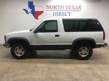 1999_Chevrolet_Tahoe_4x4 2Door 5.7 V8 Low Low Miles Nice Collector JVC Audio_ Mansfield TX