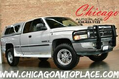1999_Dodge_Ram 1500_5.9L SMPI V8 MAGNUM ENGINE 4WD GRAY CLOTH INTERIOR 5 DUAL OUTLET EXHAUST BACKUP CAMERA GRILLE GUARD PREMIUM CHROME WHEELS_ Bensenville IL