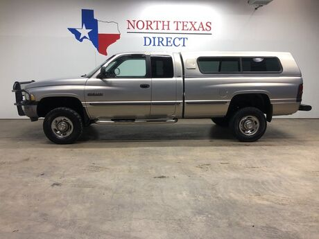 1999 Dodge Ram 2500 4X4 5.9 Cummins Diesel Ranch Hand Camper Shell Bed Liner Mansfield TX