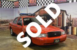 Ford Crown Victoria Police Pkg (fleet-only) SECURITY CAR 1999