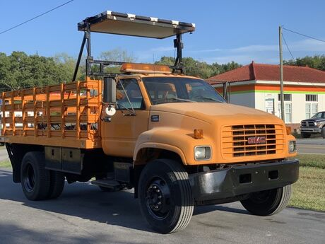 1999 GMC C7500 Flat Bed Stake Body Crozier VA