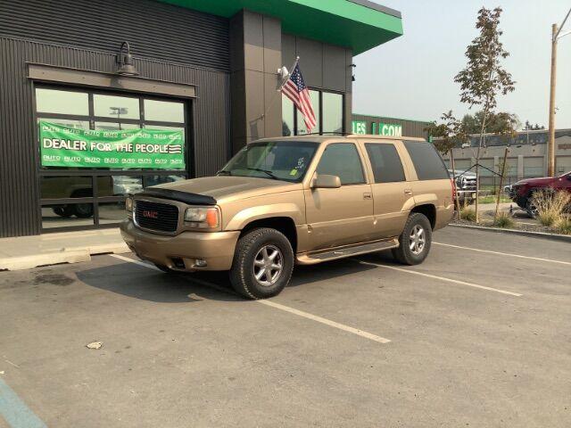 1999 GMC Yukon SLE 4WD Spokane Valley WA