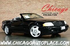 1999_Mercedes-Benz_SL-500_SPORT CONVERTIBLE - 5.0L V8 ENGINE REAR WHEEL DRIVE AMG SPORT PACKAGE GRAY LEATHER HEATED SEATS WOOD GRAIN INTERIOR TRIM XENONS BOSE AUDIO_ Bensenville IL