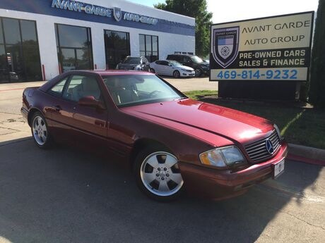1999 Mercedes-Benz SL500 HARD/SOFT TOP CONVERTIBLE MINT CONDITION!!! ULTRA LOW MILES!!! COLLECTIBLE!!! ONE OWNER!!! Plano TX