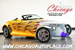 1999_Plymouth_Prowler_2Dr-Roadster - 3.5L V6 HIGH OUTPUT ENGINE LOW MILES CUSTOM PAINT JOB BLACK LEATHER INTERIOR CHROME FRONT STRUTS_ Bensenville IL