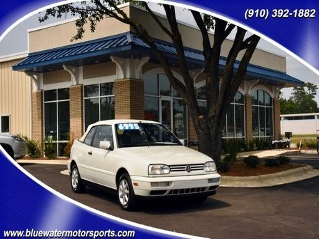 1999_Volkswagen_Cabrio_GLS_ Wilmington NC