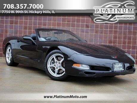 2000 Chevrolet Corvette California Convertible Auto Heads Up Loaded Hickory Hills IL