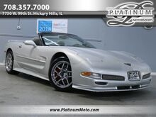 2000_Chevrolet_Corvette Convertible_Body Kit Heads Up Chromes 6 Speed_ Hickory Hills IL