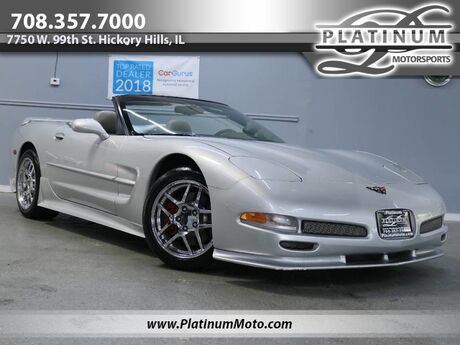 2000 Chevrolet Corvette Convertible Body Kit Heads Up Chromes 6 Speed Hickory Hills IL