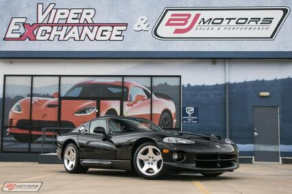 2000 Dodge Viper Only 4K Miles GTS Tomball TX
