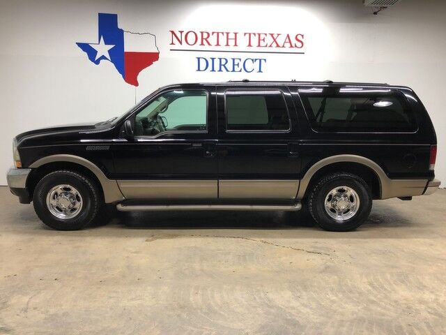 2000 Ford Excursion Limited Heated Leather Rear Entertainment 8 Passenger Mansfield TX