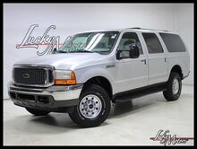 2000_Ford_Excursion_XLT V10 Rear TV Touchscreen Radio_ Villa Park IL