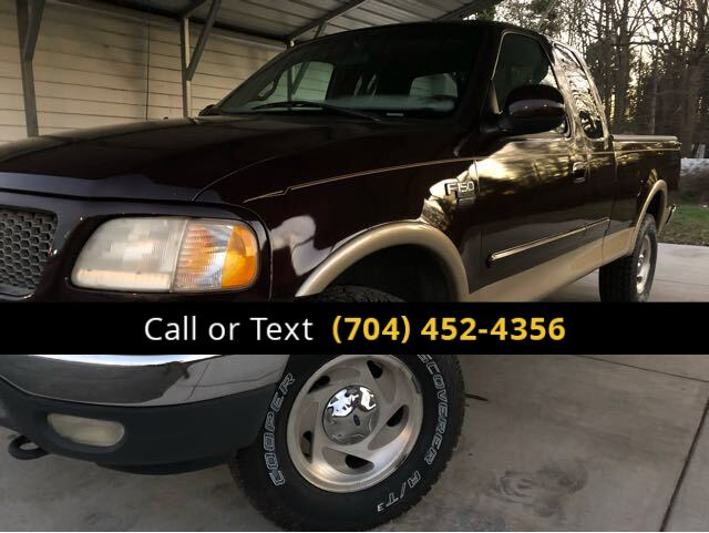 2000 Ford F-150 XLT SuperCab Short Bed 4WD Charlotte and Monroe NC