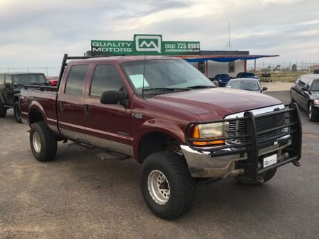 2000 Ford F-250 SD XLT Crew Cab Short Bed 4WD Laredo TX