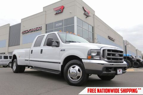 2000_Ford_F-350 SD_XLT Crew Cab Long Bed 2WD DRW_ Chantilly VA