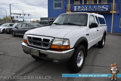 2000_Ford_Ranger_XLT / 4X4 / Supercab / Seats 5 / Cruise Control / BRAHMA Canopy / Bed Liner / 21 MPG / Only 89k Miles_ Anchorage AK
