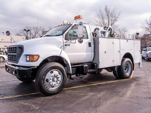 2000_Ford_Super Duty F-650 XLT_Service Truck_ Chicago IL
