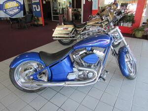 2000 HARLEY-DAVIDSON Custom CustomMiles 0 Color Blue Stock 1112COA VIN 1A9PHS4A1XA329193