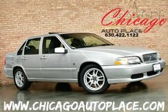 2000_Volvo_S70_2.4L ALL-ALLOY TURBOCHARGED I5 ENGINE - 1 OWNER BLACK LEATHER HEATED SEATS SUNROOF WOOD GRAIN TRIM PREMIUM ALLOY WHEELS_ Bensenville IL
