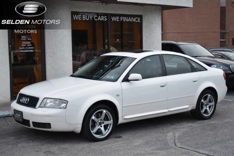 Vehicle Details Audi A At Selden Motors Conshohocken - 2001 audi