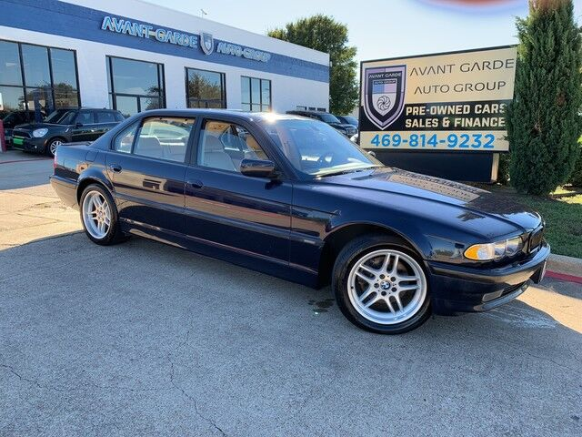 2001 BMW 740iL SPORT PACKAGE NAVIGATION, PREMIUM STEREO, XENON HEADLIGHTS, PREMIUM LEATHER!!! SUPER LOW MILES, EXTRA CLEAN!!! SUPER RARE!!! Plano TX