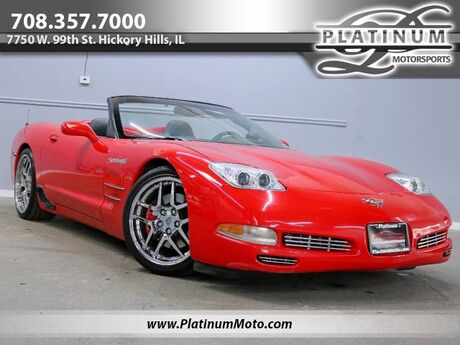2001 Chevrolet Corvette Convertible 2 Owner Supercharged Auto Stereo System Loaded Hickory Hills IL