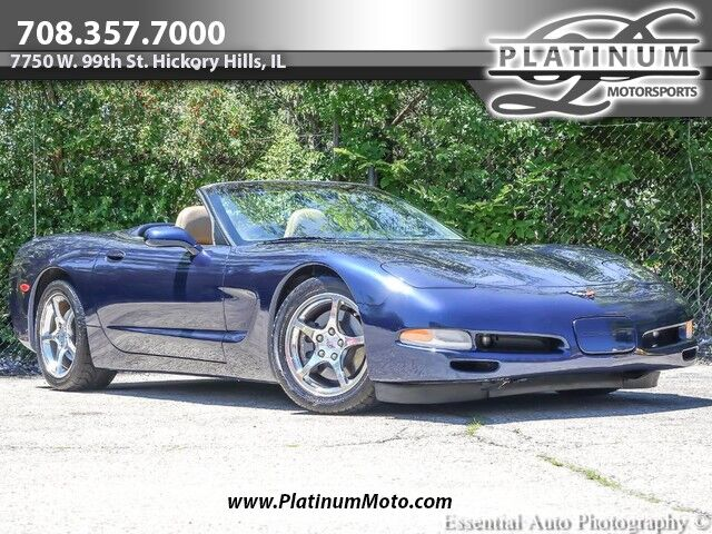 2001 Chevrolet Corvette Convertible Heads Up Bose 6-Spd Hickory Hills IL