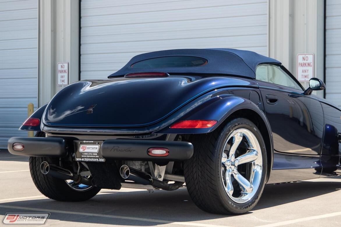 2001 Chrysler Prowler Mulholland Edition Tomball TX