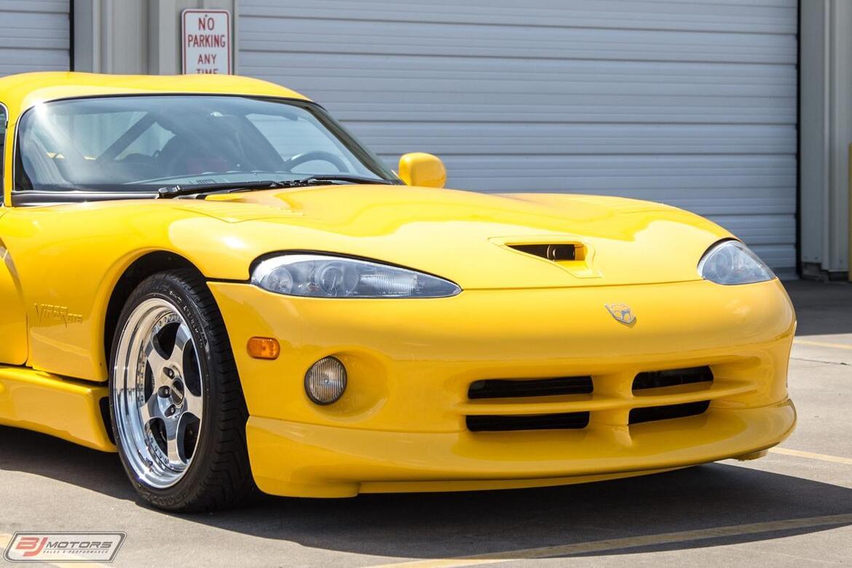 2001 Dodge Viper GTS 600 Series Tomball TX