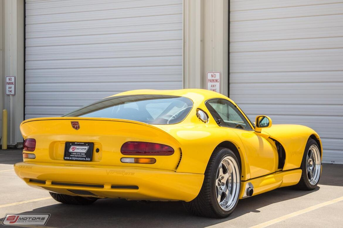2001 Dodge Viper GTS Archer Racing 600 Series Tomball TX